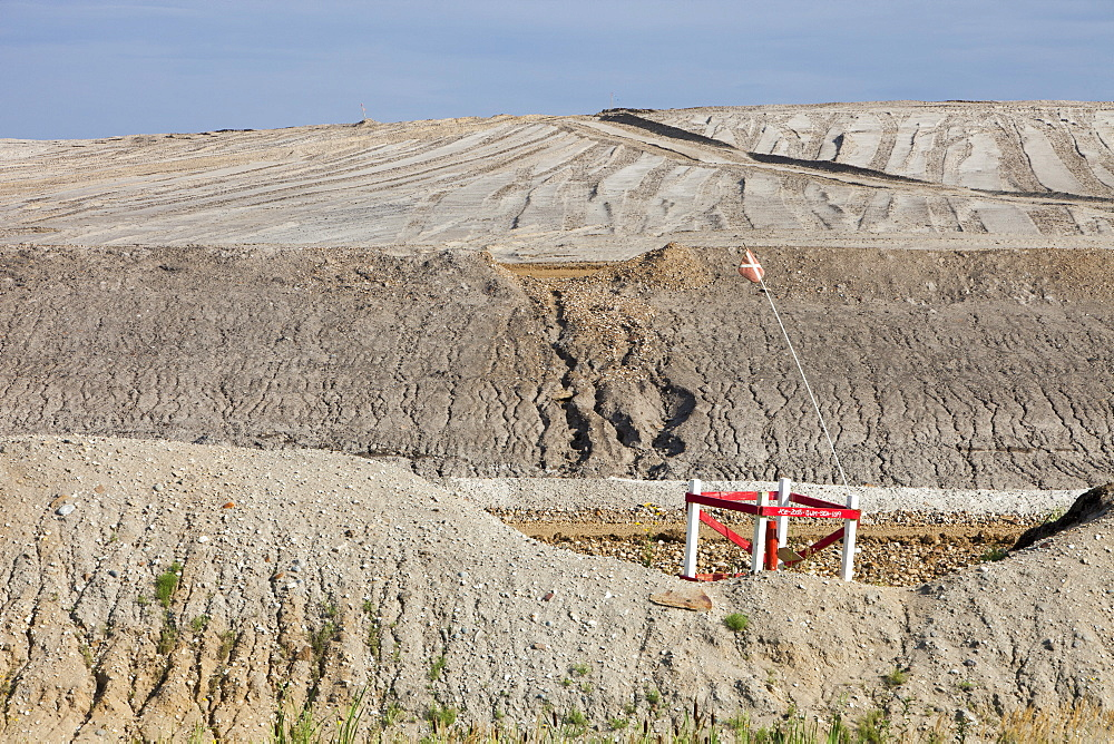 Shell's Albian Sands tar sands mine, Alberta, Canada, North America
