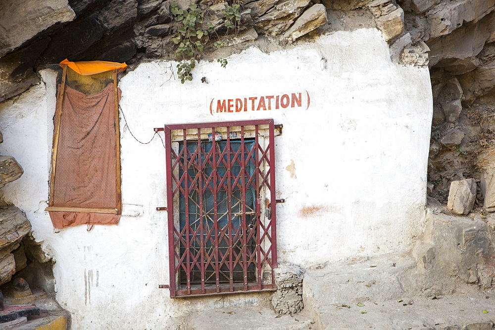 Cell for meditation at the Pashupatinath Temple, a Hindu temple of Lord Shiva on the banks of the Bagmati River, UNESCO World Heritage Site, Kathmandu, Nepal, Asia