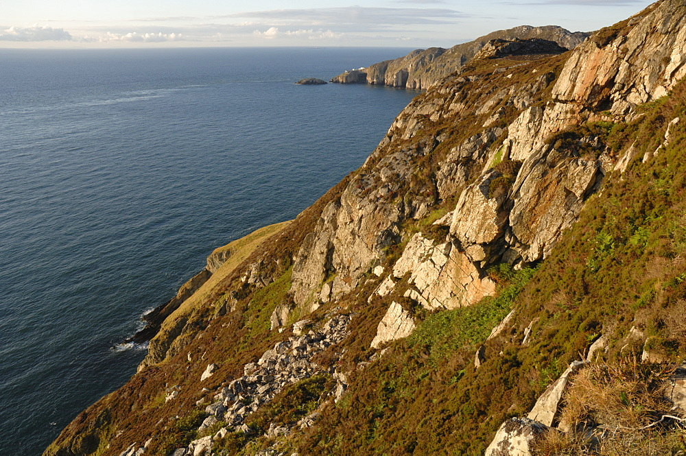 Coastline, South Stack, Anglesey, Wales, UK
