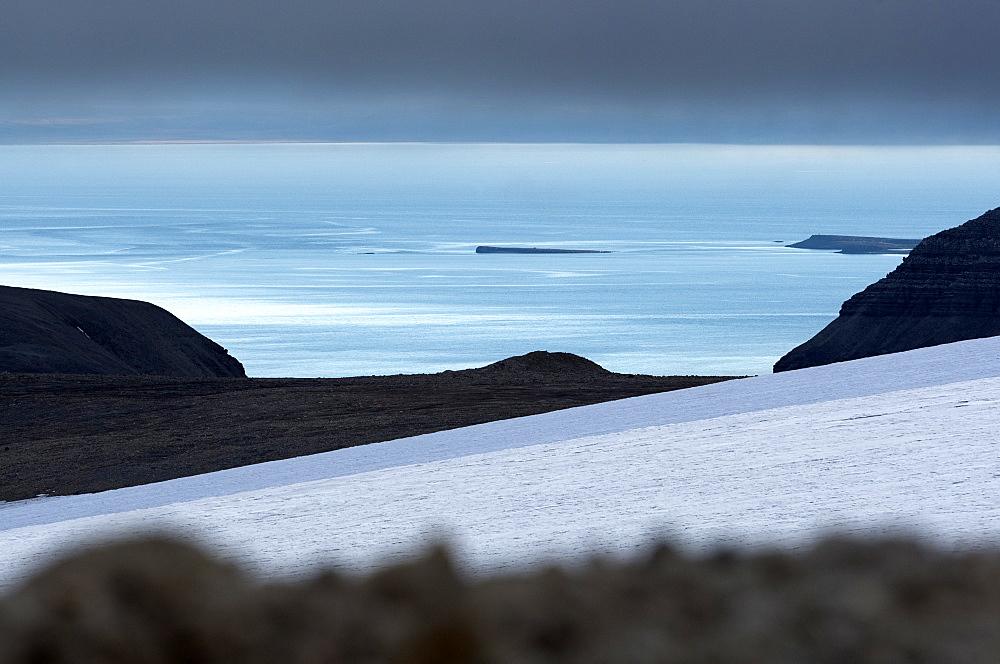 Billefjorden, Spitsbergen, Svalbard, Norway, Scandinavia, Europe - 918-100