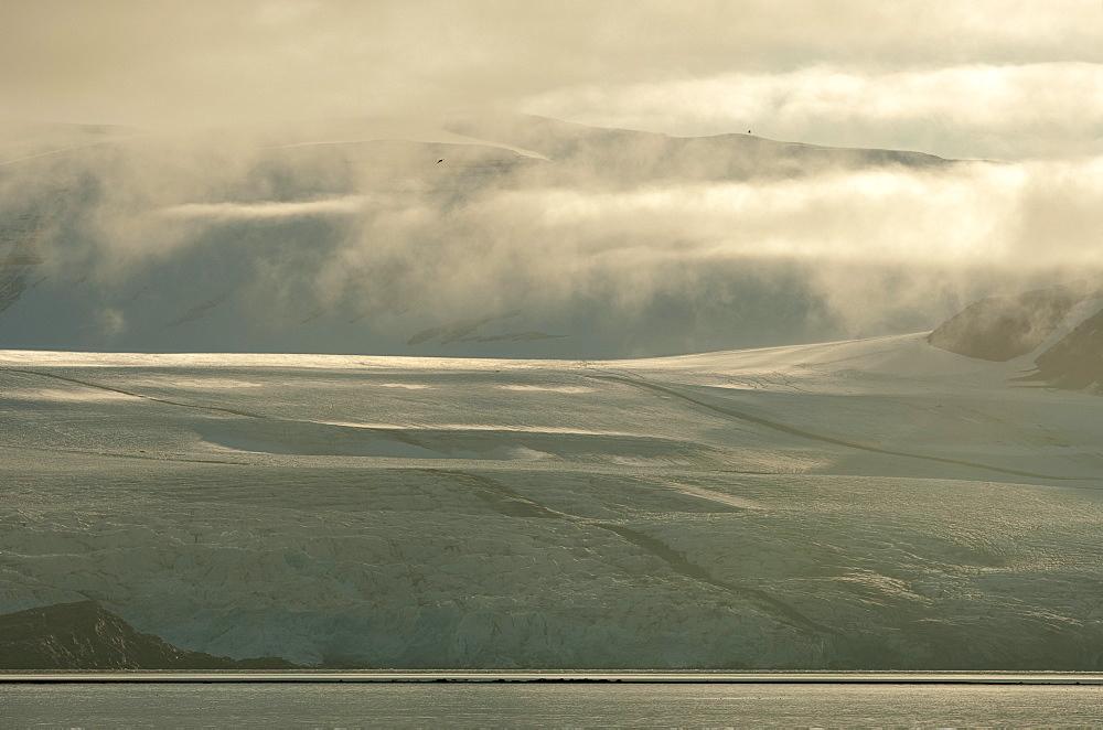 Billefjorden, Spitsbergen, Svalbard, Norway, Scandinavia, Europe - 918-101