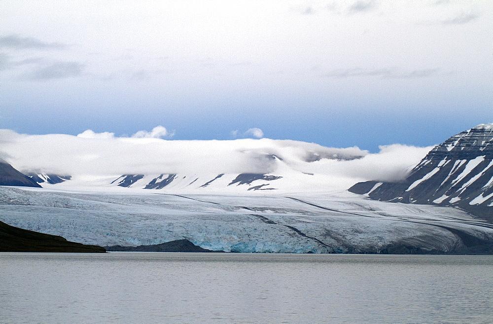 Nordenskioldbreen, Billefjorden, Spitsbergen, Svalbard, Norway, Scandinavia, Europe - 918-104