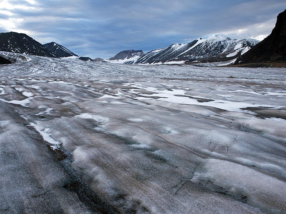 Horbyebreen, Billefjorden, Spitsbergen, Svalbard, Norway, Scandinavia, Europe - 918-78