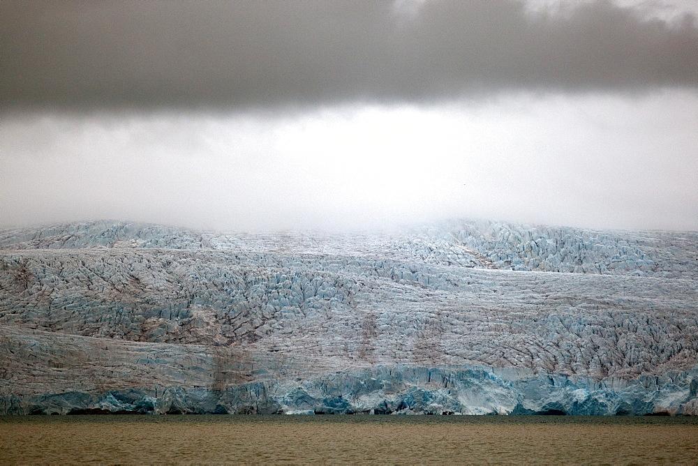 Nordenskioldbreen, Billefjorden, Spitsbergen, Svalbard, Norway, Scandinavia, Europe - 918-80