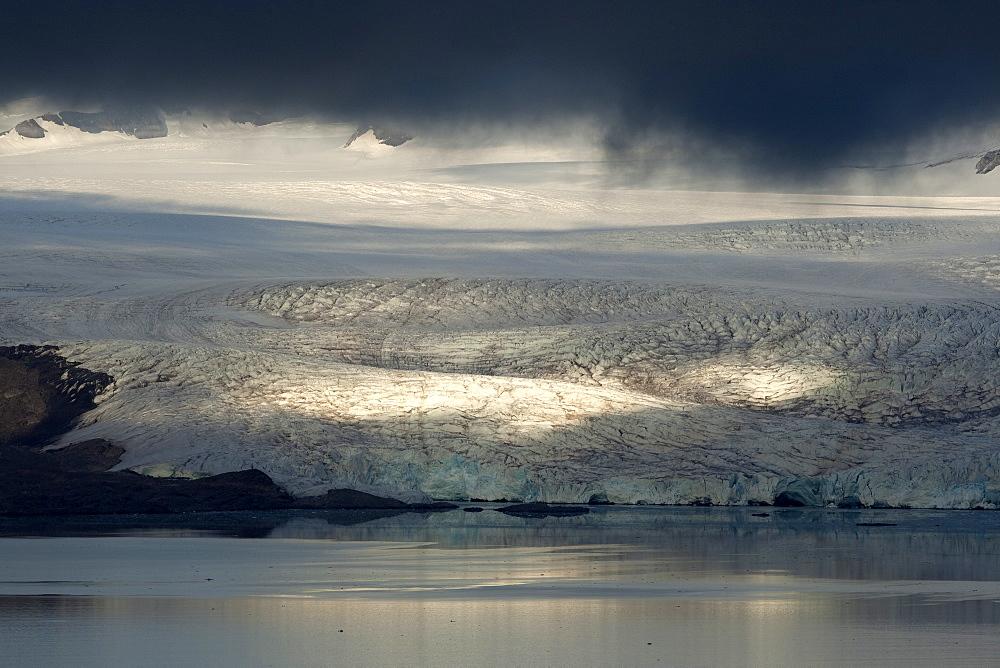 Nordenskioldbreen, Billefjorden, Spitsbergen, Svalbard, Norway, Scandinavia, Europe - 918-82