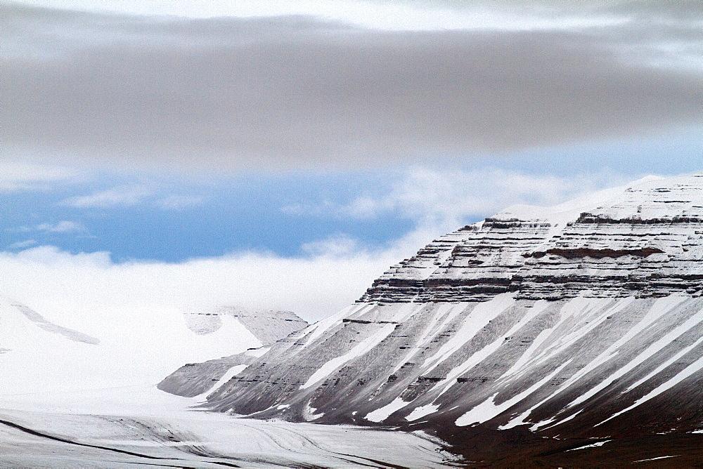 Billefjorden, Spitsbergen, Svalbard, Norway, Scandinavia, Europe - 918-91