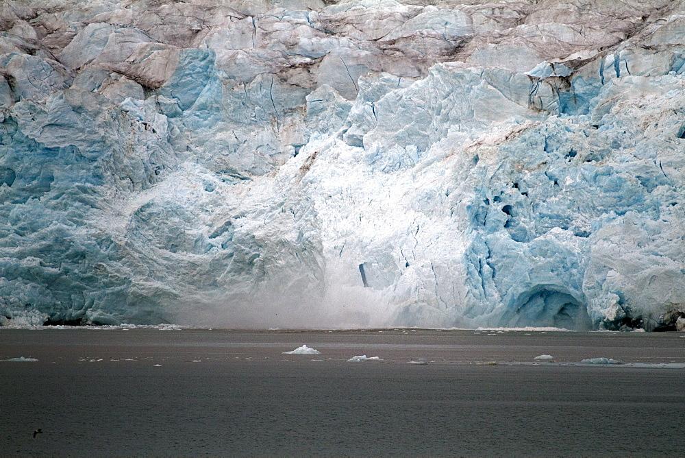 Nordenskioldbreen, Billefjorden, Spitsbergen, Svalbard, Norway, Scandinavia, Europe - 918-94