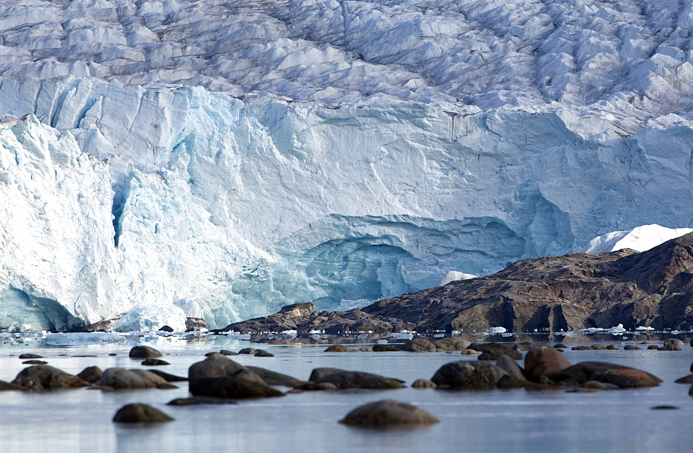 Nordenskioldbreen, Billefjorden, Spitsbergen, Svalbard, Norway, Scandinavia, Europe - 918-98