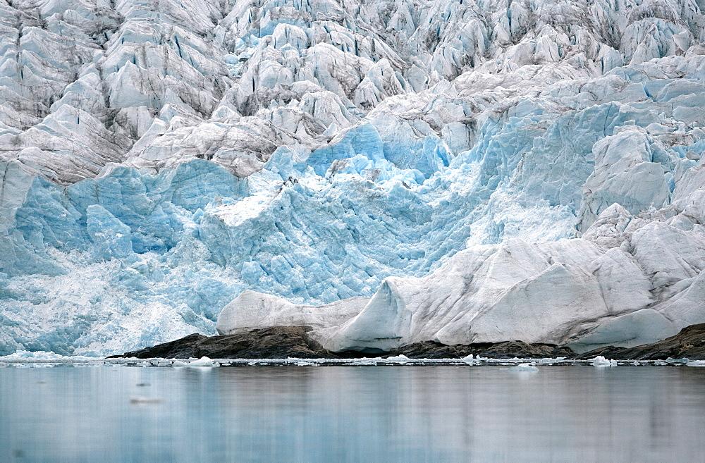 Nordenskioldbreen, Billefjorden, Spitsbergen, Svalbard, Norway, Scandinavia, Europe - 918-99