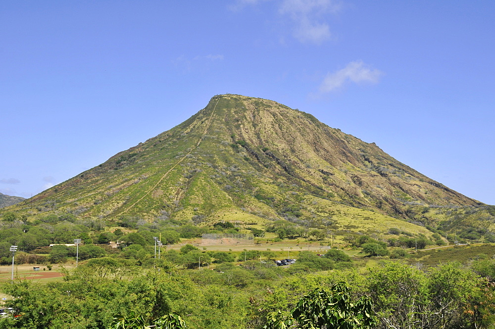 Koko Crater, South Oahu, Hawaii, United States of America, Pacific - 920-542