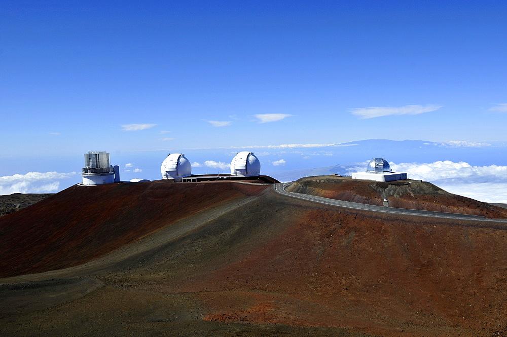 Observatories, Mauna Kea, Big Island, Hawaii, United States of America, Pacific