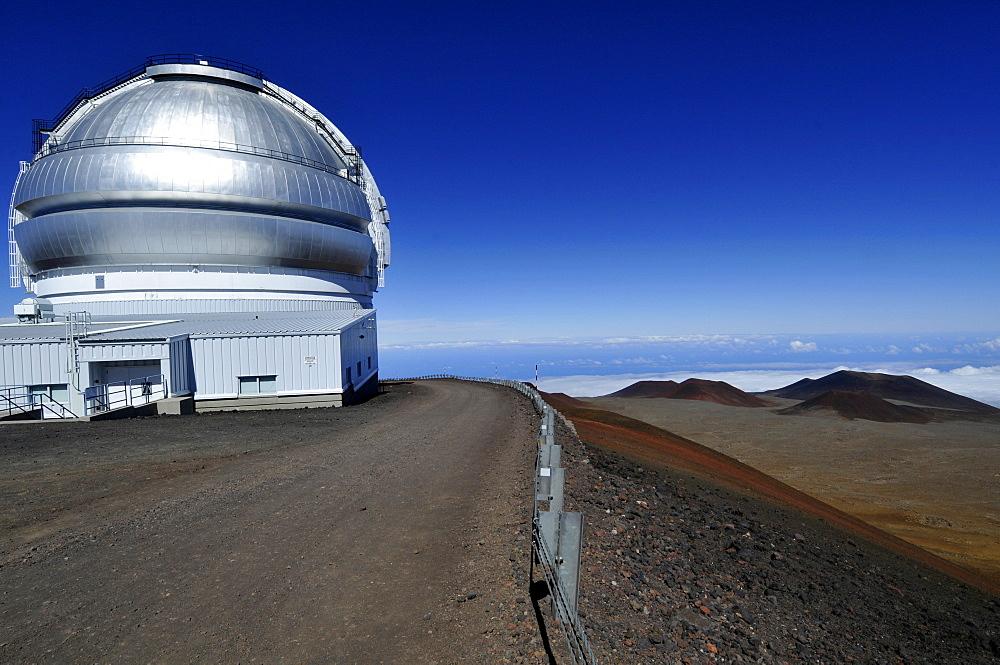 Gemini telescope, Mauna Kea, Big Island, Hawaii, United States of America, Pacific