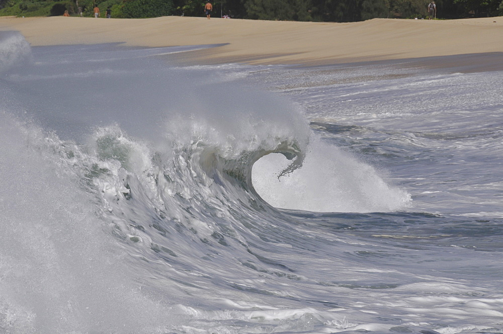 Waves, Oahu, Hawaii, United States of America, Pacific