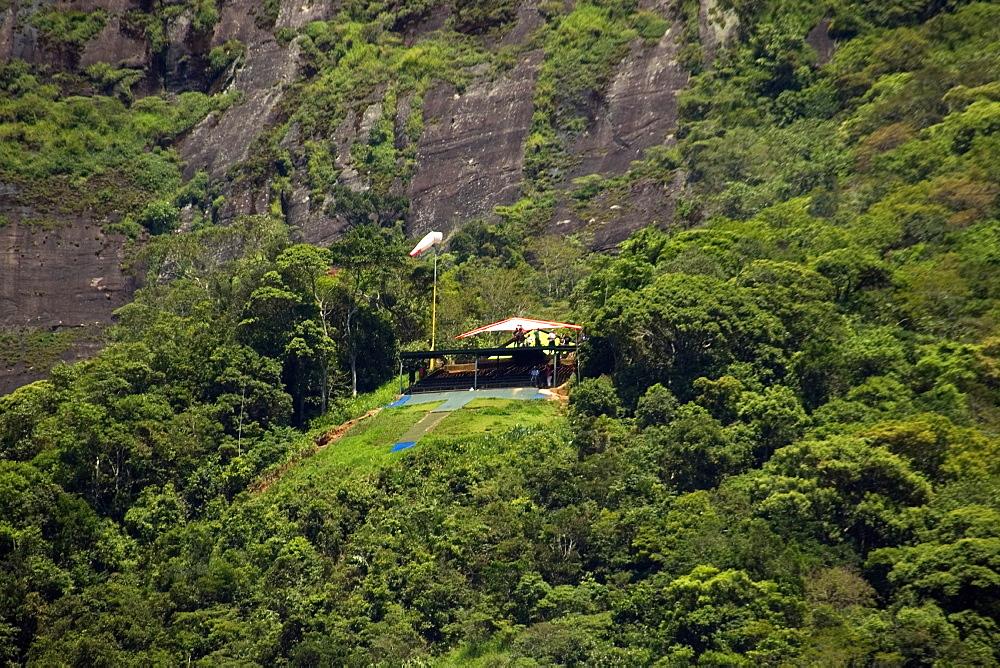 Handgliding course at Gavea Rock, Rio de Janeiro, Brazil, South America - 920-973