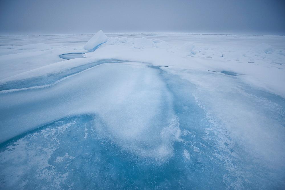 Arctic Ice Sheets. Longyearbyen,  Nordaustlandet, South Severn Is, Svalbard, Norway
