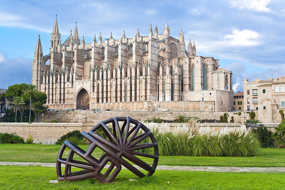 La Seu / Saint Mary of Valencia Cathedral. Palma De Mallorca, Mallorca, Spain, Europe