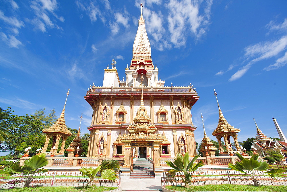 Karon Beach, Buddhist Temple, Phuket Island, Phuket, Thailand, Southeast Asia, Asia - 921-1372