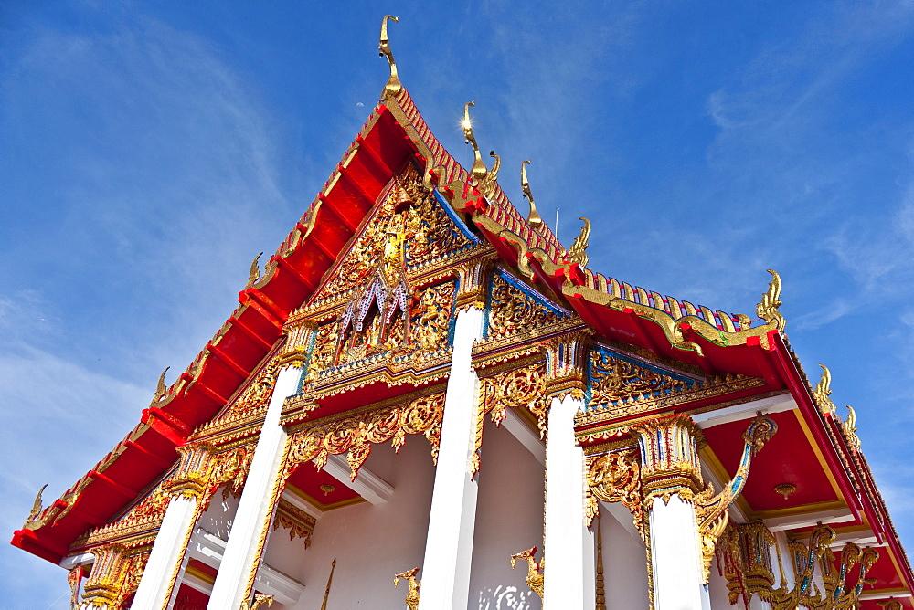Karon Beach, Buddhist Temple, Phuket Island, Phuket, Thailand, Southeast Asia, Asia - 921-1374