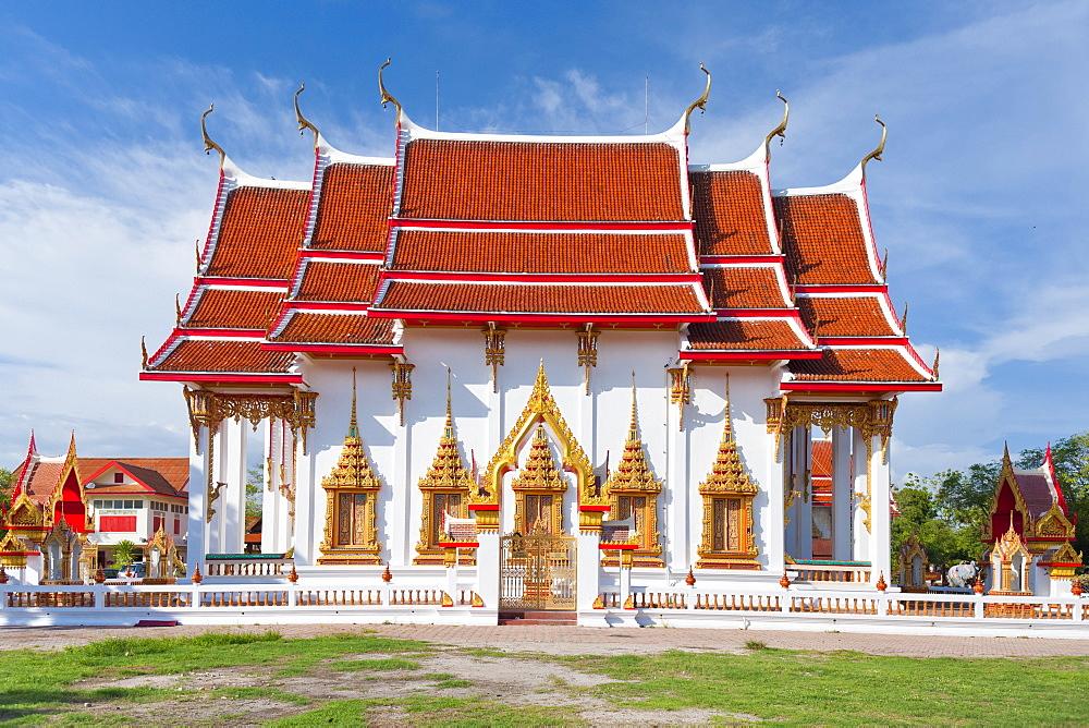 Karon Beach, Buddhist Temple, Phuket Island, Phuket, Thailand, Southeast Asia, Asia - 921-1375
