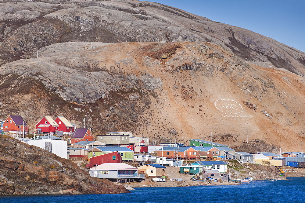 Town of Kimmirut, Baffin Island (Qikiqtaaluk) Nunavut, Canada, North America