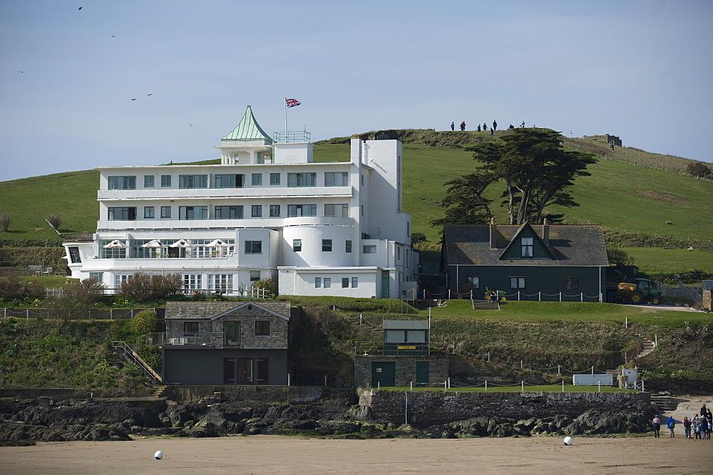 Burgh Island Hotel. Burgh Island. Devon. UK