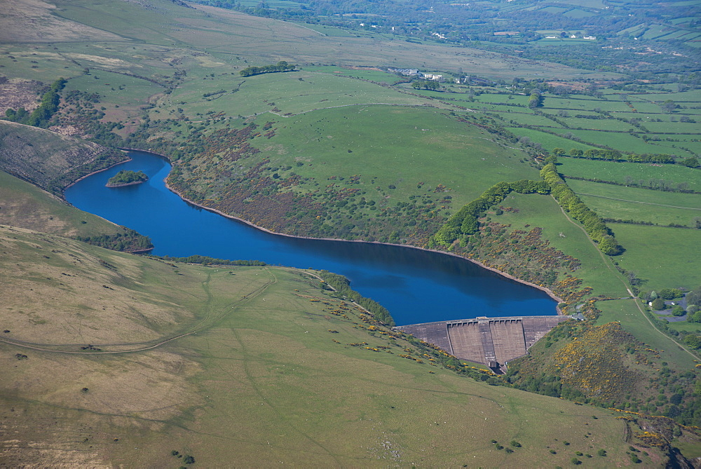 Meldon Reservoir, Dartmoor, Devon, England, United Kingdom, Europe