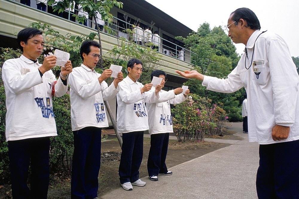 Hell Camp, executive retraining, Japan, Asia