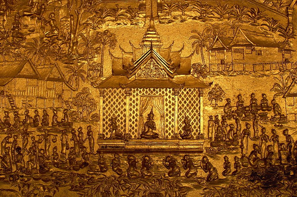 Wat Mai, Luang Prabang, Laos, Indochina, Southeast Asia, Asia - 94-1659