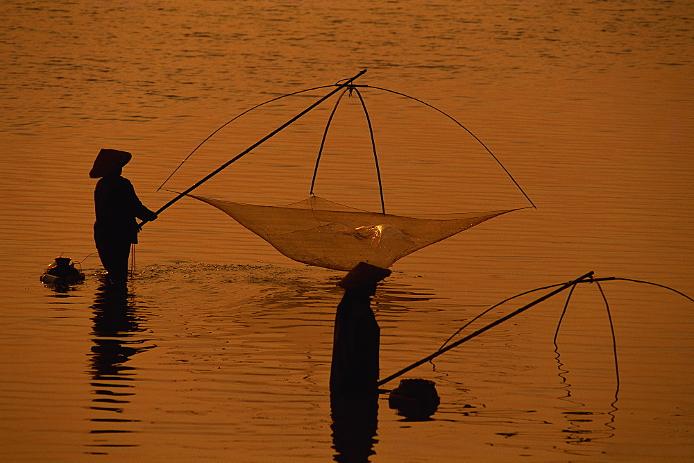 The Mekong River, Vientiane, Laos, Indochina, Southeast Asia, Asia - 94-2332