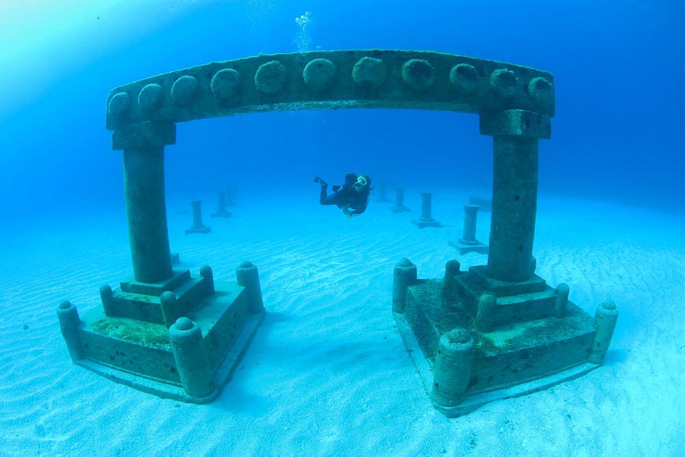 ATLANTIS scupture park, Cayman Brac, Cayman Islands, Caribbean