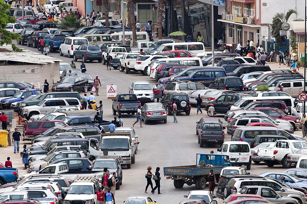 Street scenes in Luanda, Angola, Africa