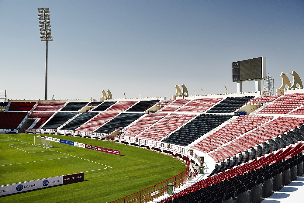 The Al-Rayyan stadium in Doha, one of the proposed stadiums for the 2022 World Cup, Doha, Qatar, Middle East - 975-250