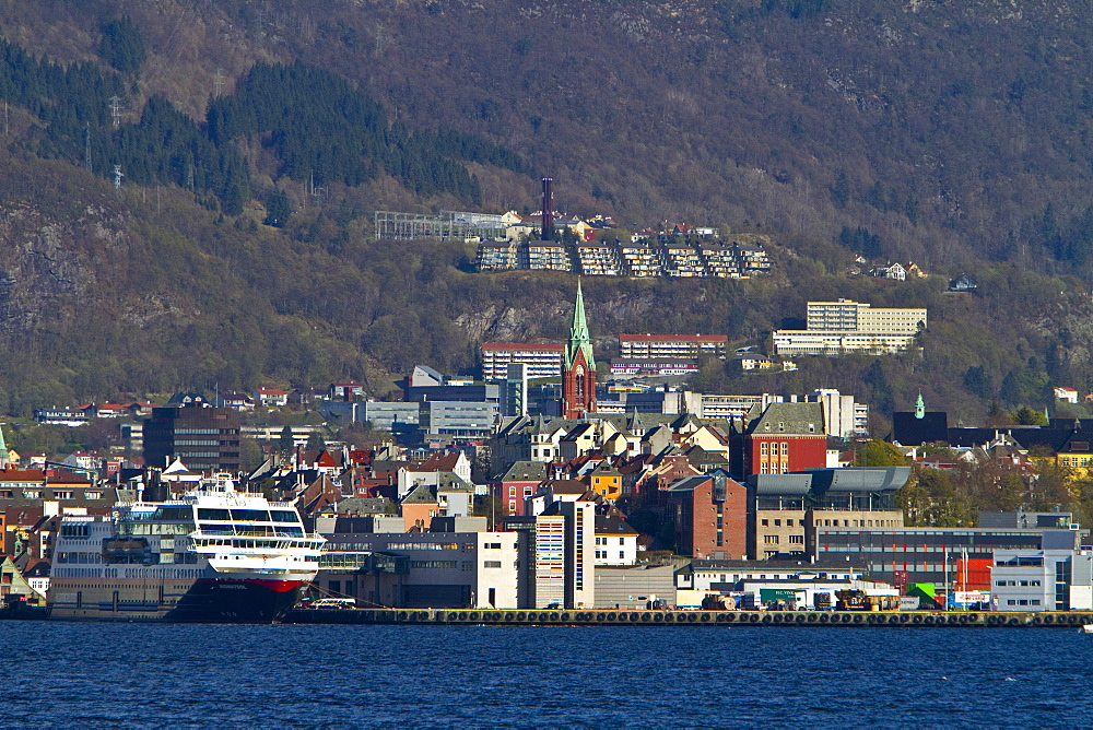 Views from around the city of Bergen, Norway