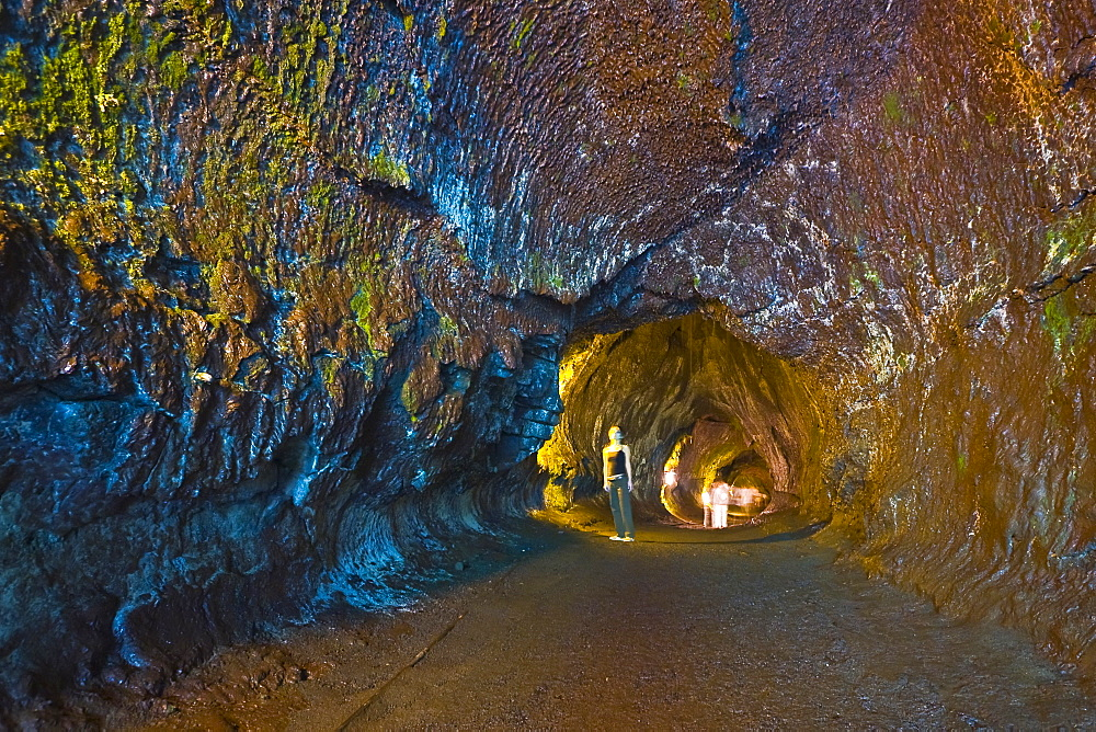 Thurston Lava Tube or Nahuku, Hawaii Volcanoes National Park, Kilauea, Big Island, Hawaii, Model Released - MR#: 000049