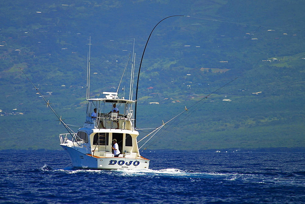 High quality stock photos of stick for Sport fishing hawaii
