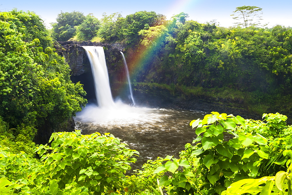 Rainbow Falls, Wailuku River State Park, Hilo, Big Island, Hawaii, United States of America, Pacific
