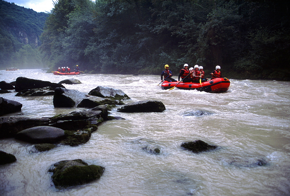 Rafting. French Alps - 986-1