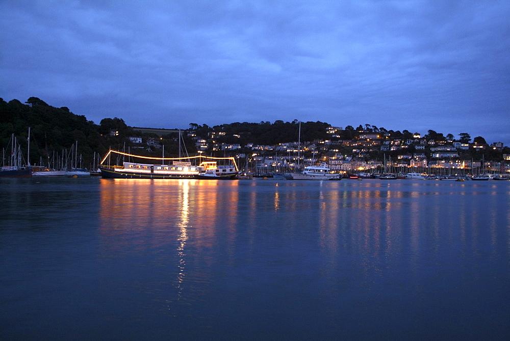 Resanova. Floating Restaurant, River Dart, Dartmouth, Devon. - 986-35