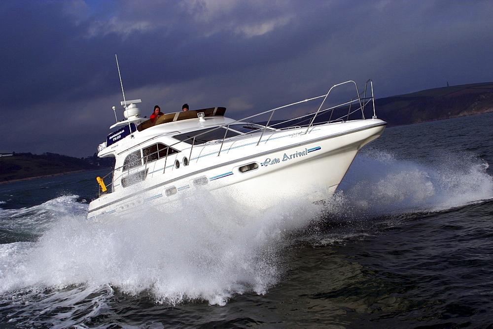 Motor Boat. Dartmouth, Devon - 986-43