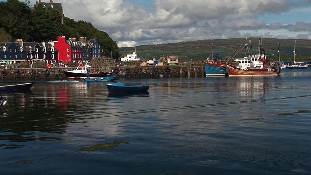 Scenic harbour. Tobermory. Mull. Scotland - 988-495