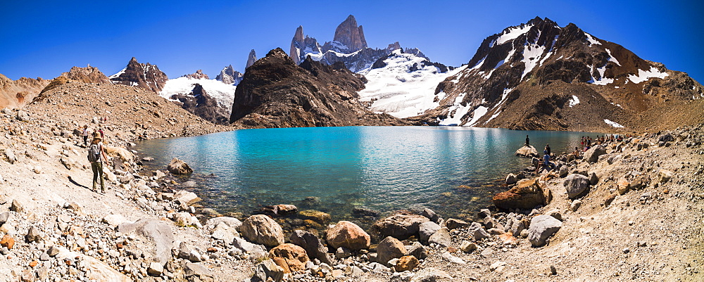 Mount Fitz Roy image with feature lake