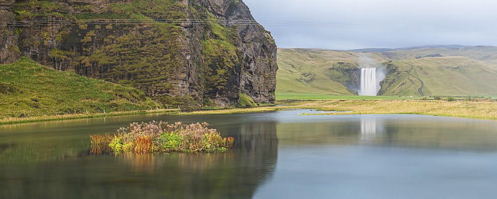 Skogafoss Waterfall, Skogar, South Region (Sudurland), Iceland, Polar Regions