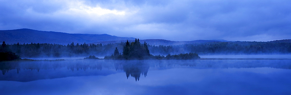 Sunrise, Bathurst Lake, Mount Carleton Provincial Park, New Brunswick.