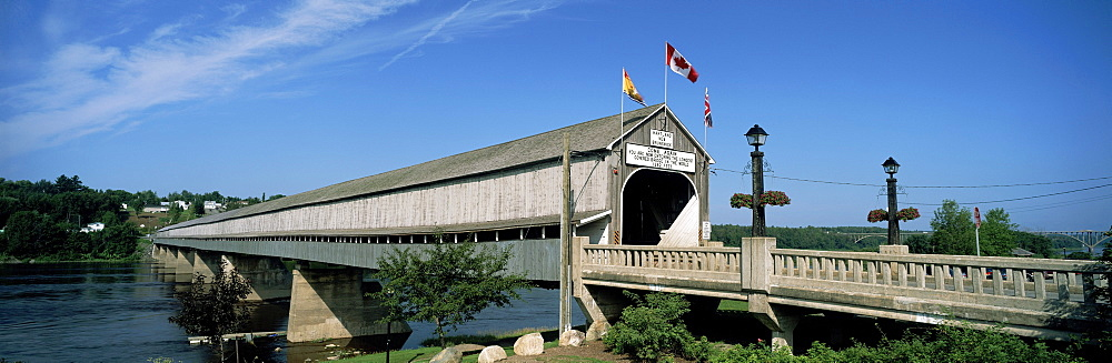 Worlds longest Covered Bridge, Hartland, New Brunswick.