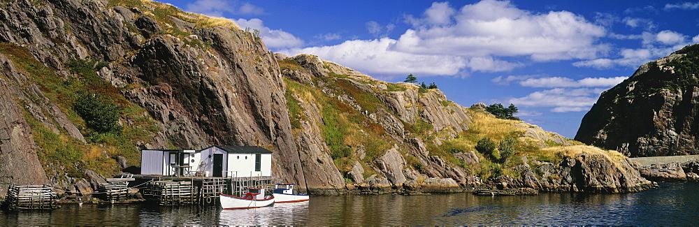Quidi Vidi Village, St John's, Newfoundland