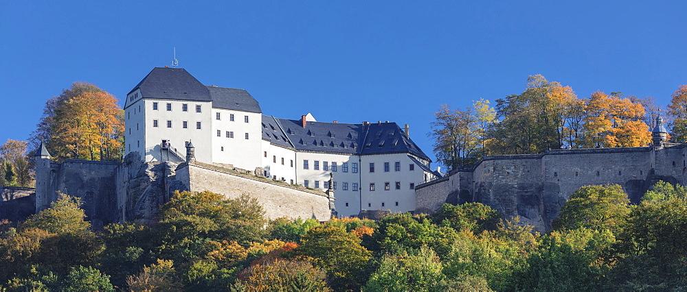 Koenigstein Fortress, Saxony Switzerland National Park, Saxony, Germany - 1160-4015