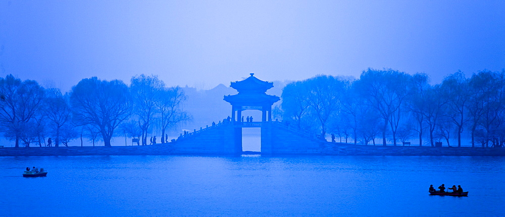 Kunming Lake At The Summer Palace (formerly Garden of Clear Ripples), Beijing, China