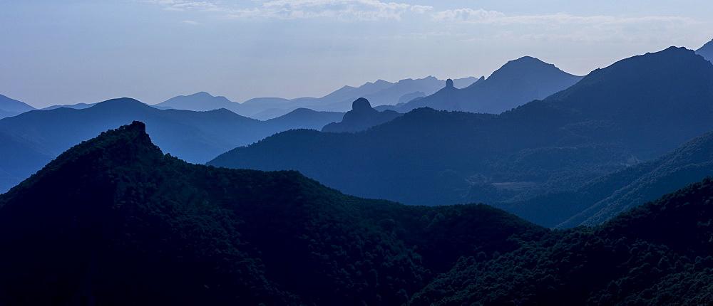 Picos de Europa, Peaks of Europe, mountain range near Potes, Asturias, Northern Spain