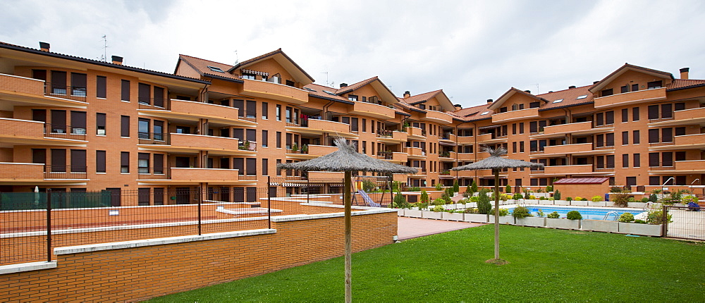 New housing development at Jaca in Northern Spain - 1161-6338
