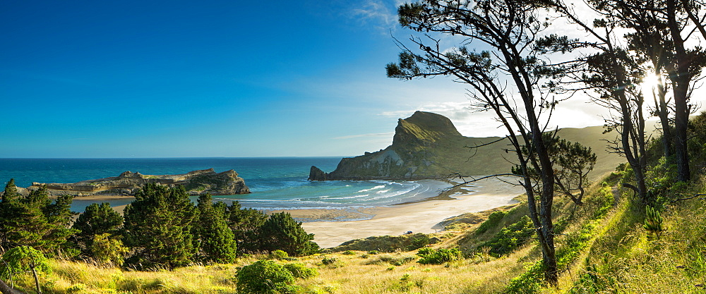 Deliverance Cove, Castlepoint, Wellington Region, North Island, New Zealand, Pacific